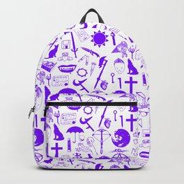 Buffy Symbology, Purple Backpack