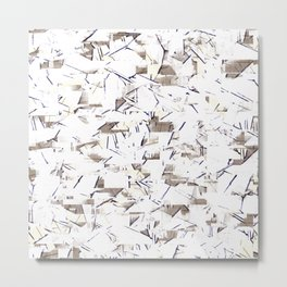 Paper Machete Metal Print