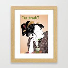 Tea Break? Framed Art Print