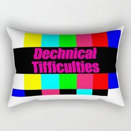 Dechnical Tifficulties Rectangular Pillow