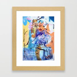 Everything once beautiful......destroyed Framed Art Print