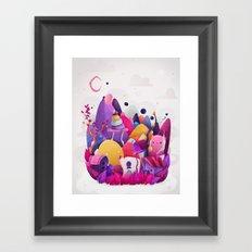 Home for Imaginary Friends Framed Art Print