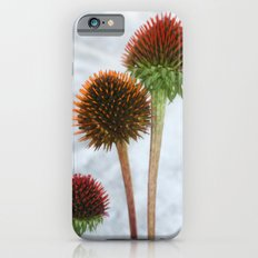 Stripped Echinacea Slim Case iPhone 6s