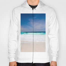 Tropical Turquoise Waves Hoody