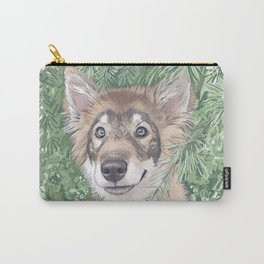 Friendly Wolf Carry-All Pouch