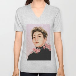 bloom [lucas nct] Unisex V-Neck