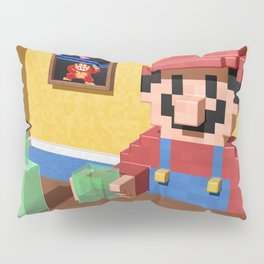 Game over Mario Pillow Sham