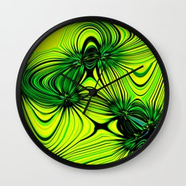 Lemon and Lime Wall Clock