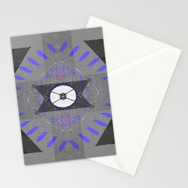Centering Native Glow Pattern Stationery Cards