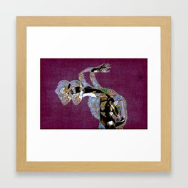 A Bicephalic Intrusion Framed Art Print