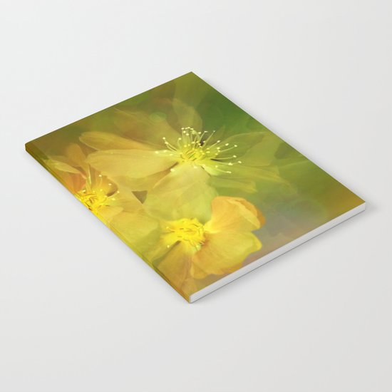 Early Morning Floral Abstract Notebook