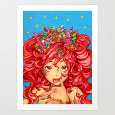 Sweet Gluttony Art Print