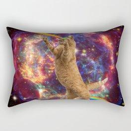 CAT SPACE  Rectangular Pillow