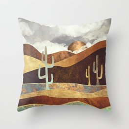 Patina Desert Throw Pillow
