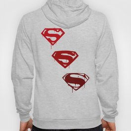 Three Supermen Hoody