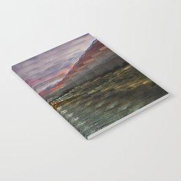 Desert Sunset Notebook