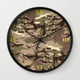 My Most Popular Camo! Wall Clock