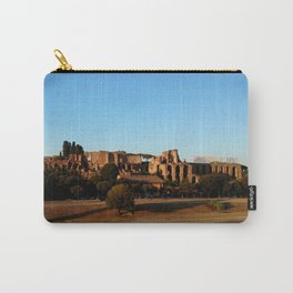 Roman ruin in Rome photography Carry-All Pouch