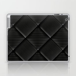 Diagonal Stripes Background 13 Laptop & iPad Skin