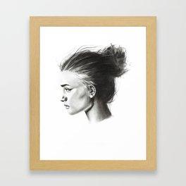 sunday morning Framed Art Print