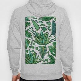 Tropical Leaf Pattern 01 Hoody