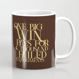 One Big Win Coffee Mug
