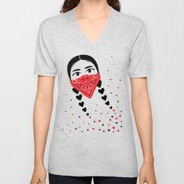 Love & Revolution Unisex V-Neck