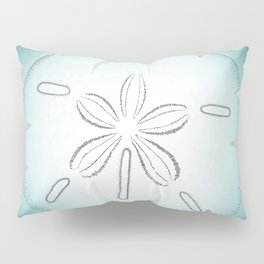 Sand Dollar Blessings - Pointilist Art Pillow Sham