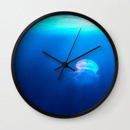 Jellyfish are beautiful Wall Clock