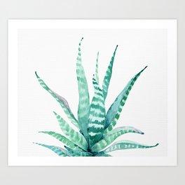Succulent Life Art Print