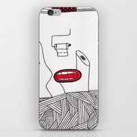 toilet iPhone & iPod Skins featuring toilet by DAMlab