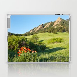 Boulder Colorado Flatirons Laptop & iPad Skin