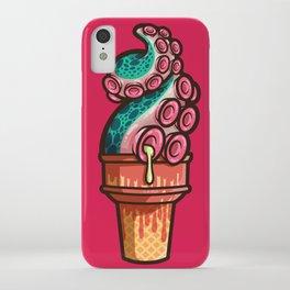 Swirly Tentacle Treat (gumdrop) iPhone Case