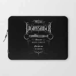This is my Lightsaber II Laptop Sleeve