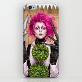 Lady Scissorhands iPhone Skin
