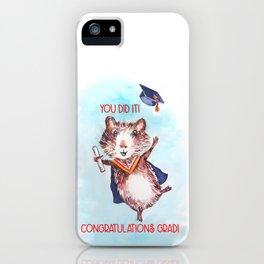 Guinea Pig Graduation iPhone Case