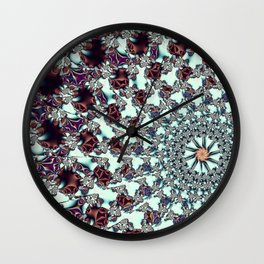 Chocolate Triffles Wall Clock