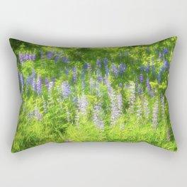 Flowers Gone Wild Rectangular Pillow