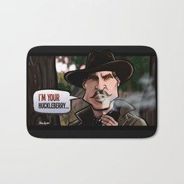 I'm Your Huckleberry (Tombstone) Bath Mat