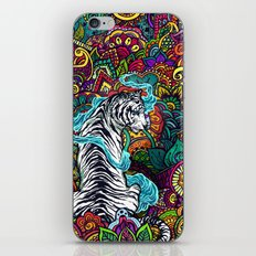 The White Tiger iPhone Skin