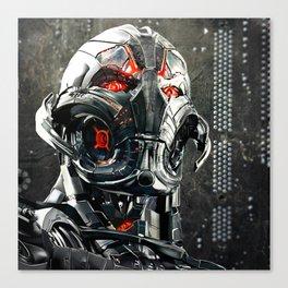 Ultron, Vector Style Canvas Print