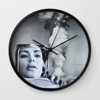 kardashian Wall Clocks featuring Kim Kardashian by John Turck