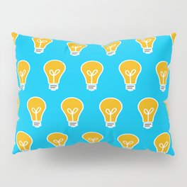 Let Your Light(bulb) Shine Pillow Sham