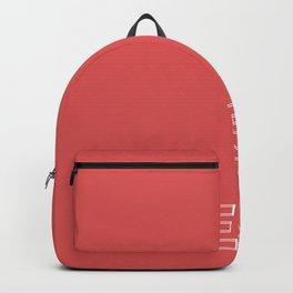#DE5555 [hashtag color] Backpack