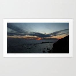 Newfoundland Sunset Art Print