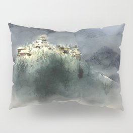 The village in the clouds Pillow Sham