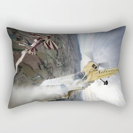 Aerobatic duel Rectangular Pillow