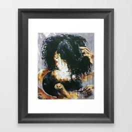 Naturally Kiss Framed Art Print