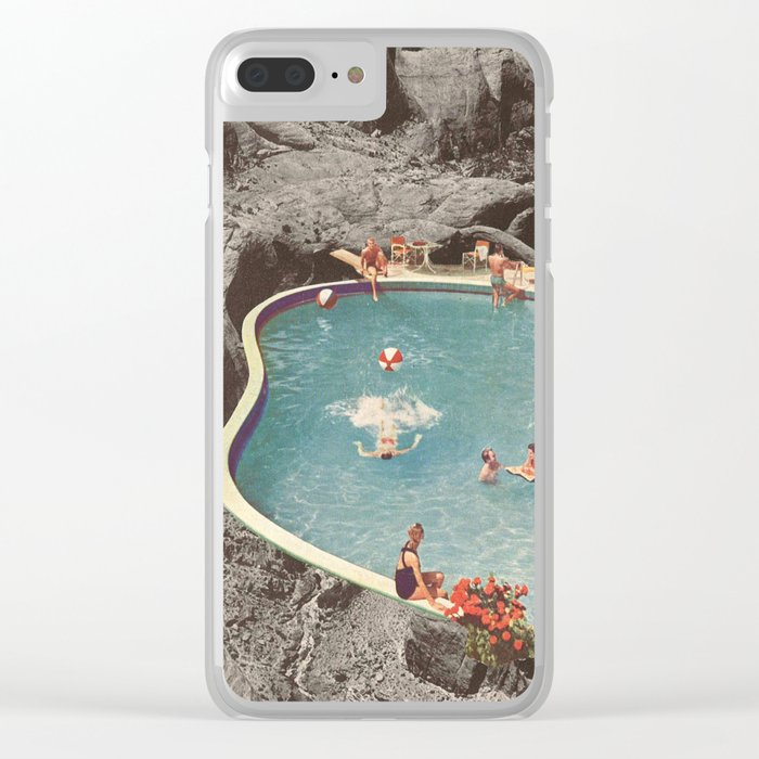 is this the place that they call paradise? Clear iPhone Case