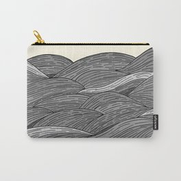 The Grey Waves Carry-All Pouch